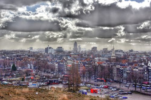 amsterdam center town