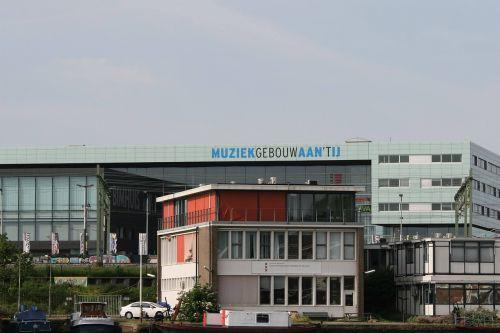 amsterdam music building muziekgebouw aan 't ij