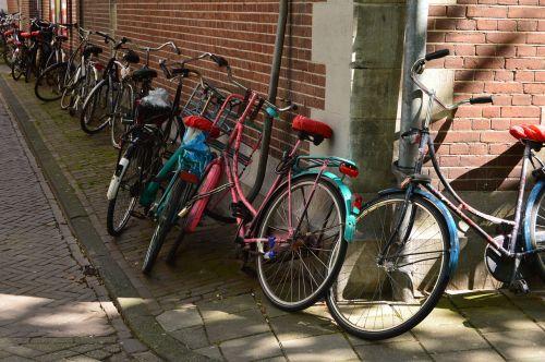 Amsterdamas, dviračiai, Nyderlandai