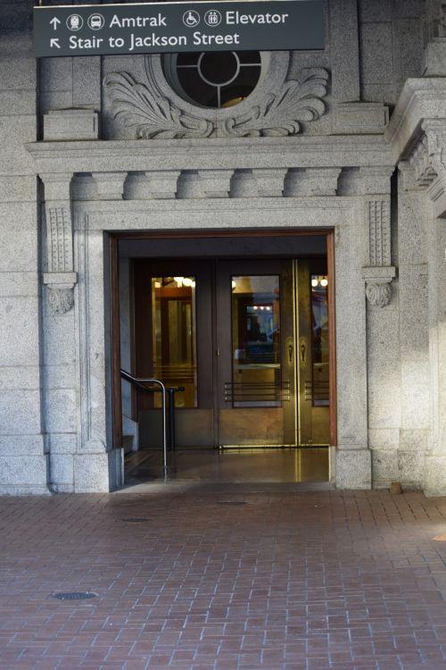 Amtrak Entrance Seattle