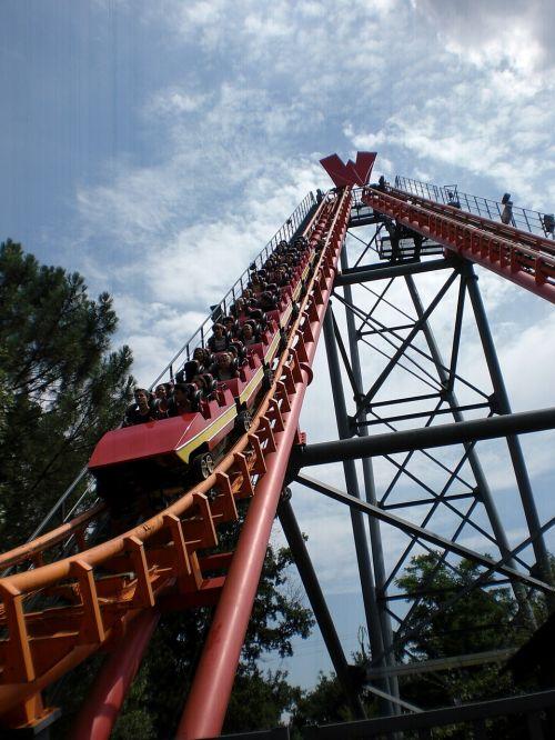 amusement park manege fairground
