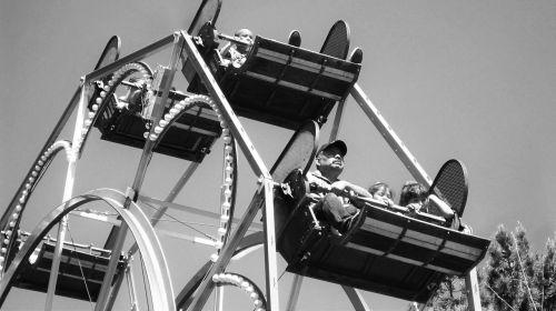amusement park ferris wheel park