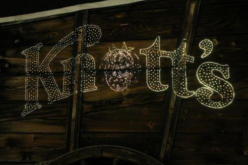 amusement park lights knott's