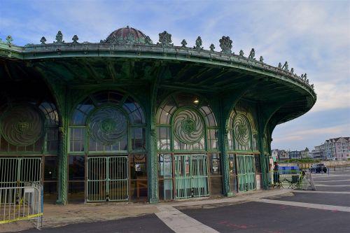 amusement park merry go round park