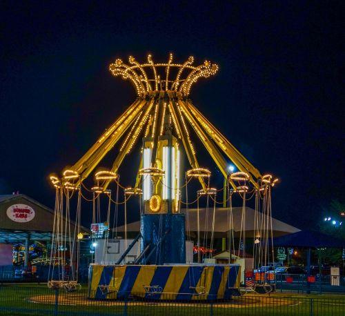 amusement park ride fun