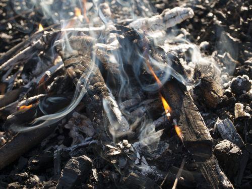 an outbreak of smoke censer