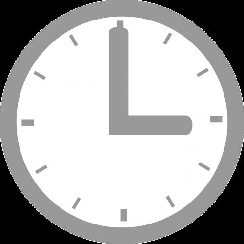 analog clock time