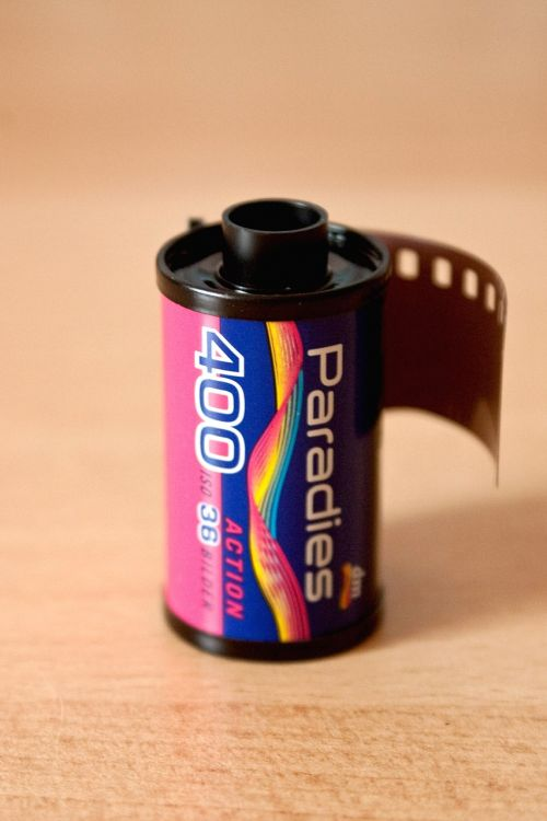 analog film box
