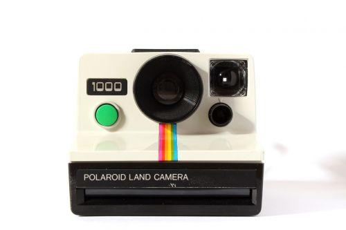 analog polaroid camera
