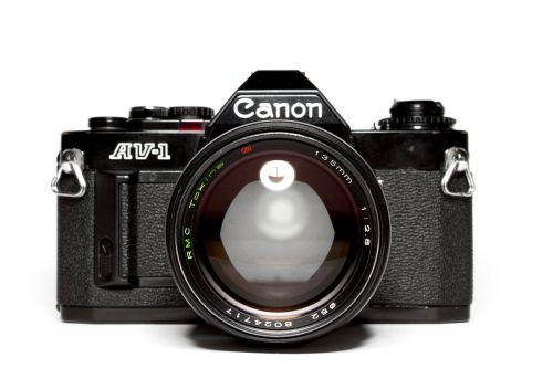 analog canon lens