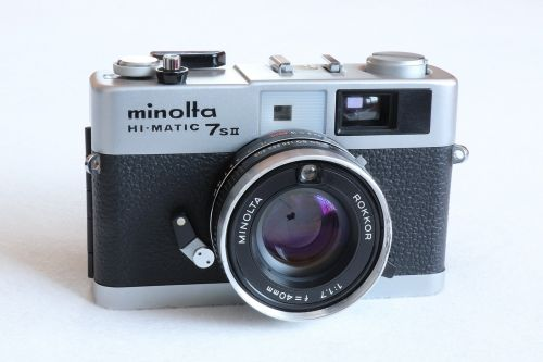 analog camera minolta