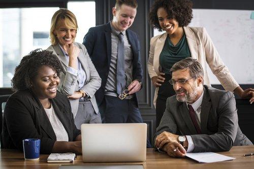 analyzing people  brainstorming  business