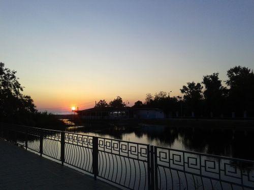 anapa evening sunset