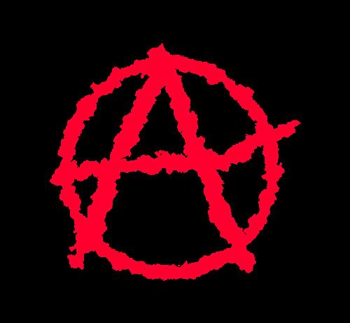 anarchism symbol a