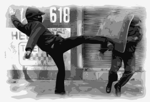 anarchy riot violence