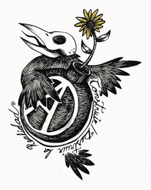 anarchy bomb bird