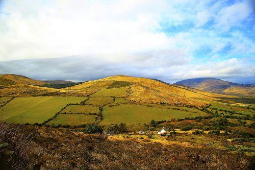 anascaul county kerry rolling hills