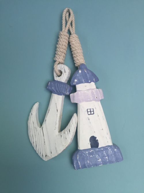 anchor lighthouse nautical