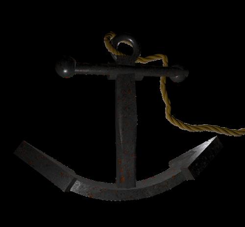anchor metal maritime