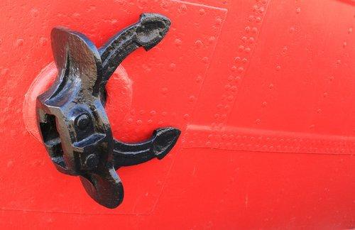 anchor  anker  ship