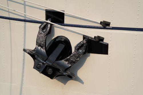 anchor gorch fock ship