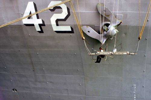 anchor maintenance naval ship