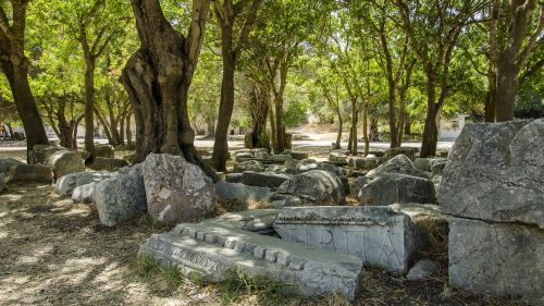 ancient stones greece