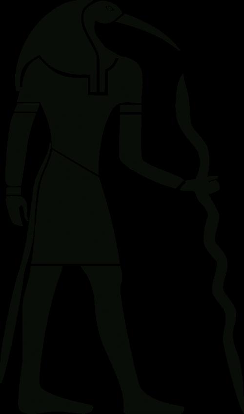 ancient anthropomorphic egyptian