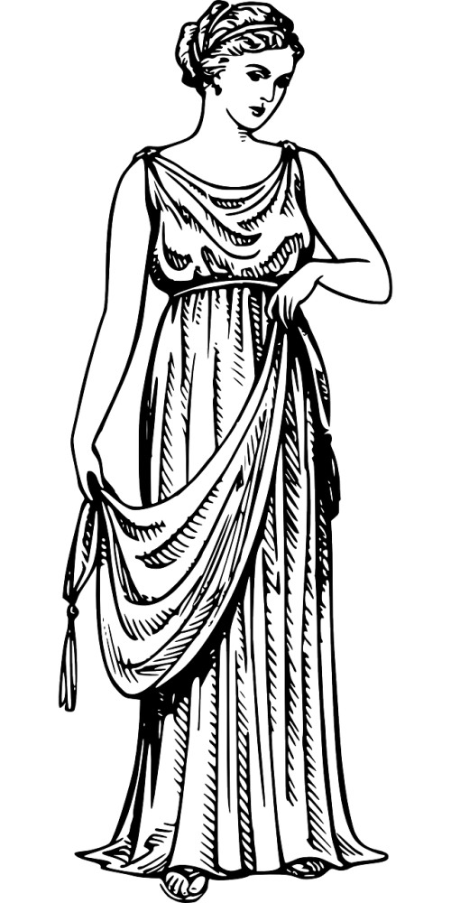 senovės,graikų kalba,apranga,suknelė,apranga,moteris,nemokama vektorinė grafika