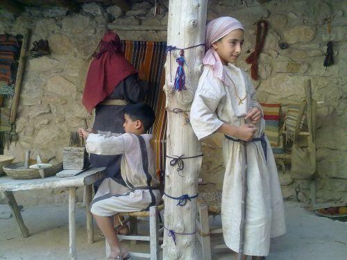 ancient israel weaving