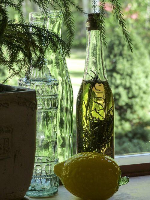 ancient glass bottles