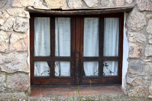 ancient  window  house