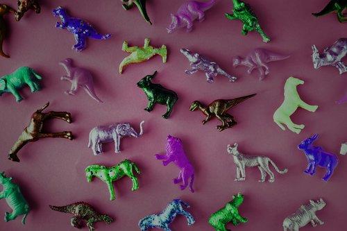 ancient  animals  assorted