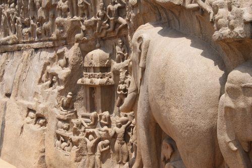 ancient architecture stone cut architecture mamallapuram