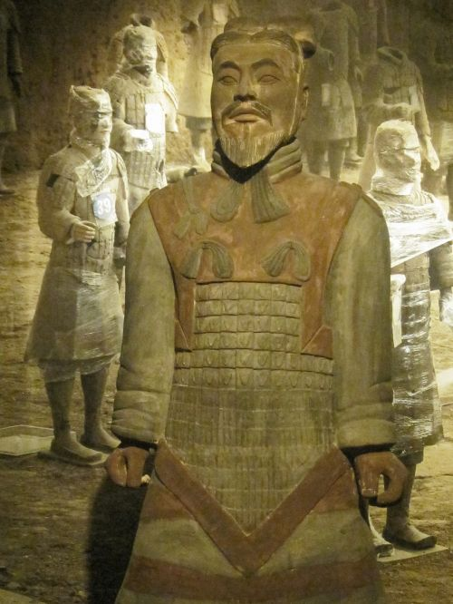 Ancient Chinese Clay Army Warrior