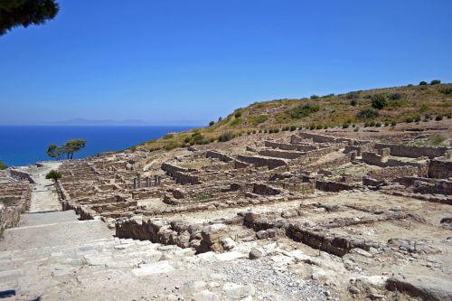 ancient city greece rhodes island