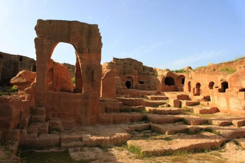 ancient city architecture on