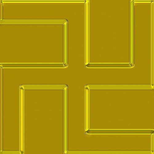 Ancient Golden Swastika