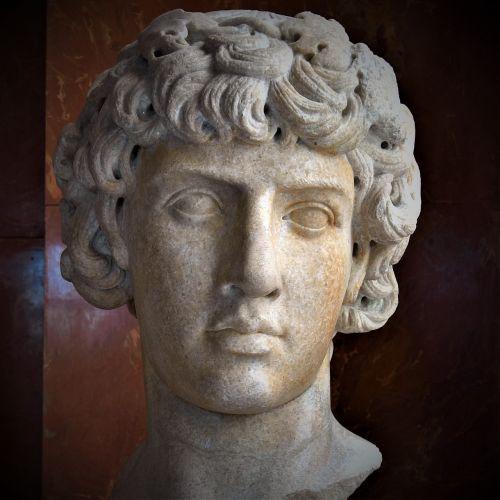 ancient rome head sculpture