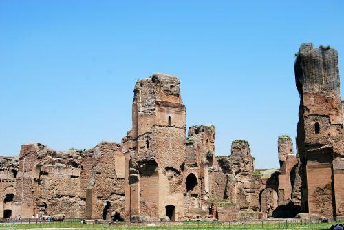 ancient rome caracalla terme
