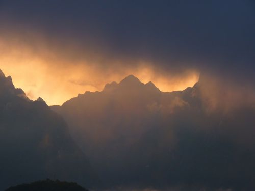 andes mountains machu picchu