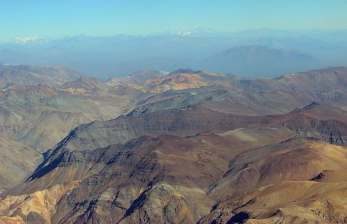 andes mountains south america