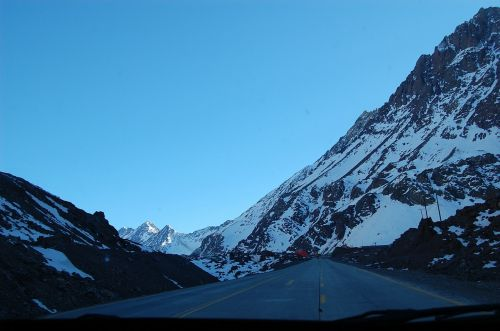 andes mountains argentina