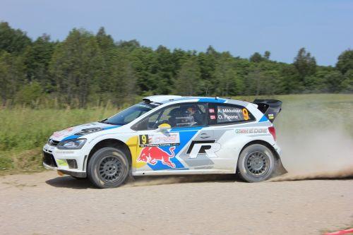 andreas mikkelsen 71 rally poland 2014 m-sport