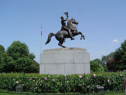 andrew jackson statue new orleans