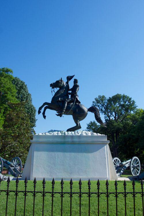 Andrew Jackson Statue Lafayette