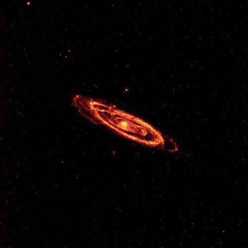 andromeda galaxy space