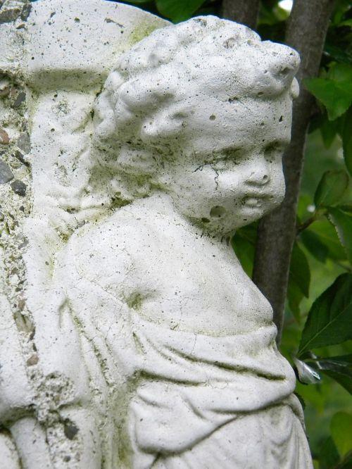 angel garden art garden