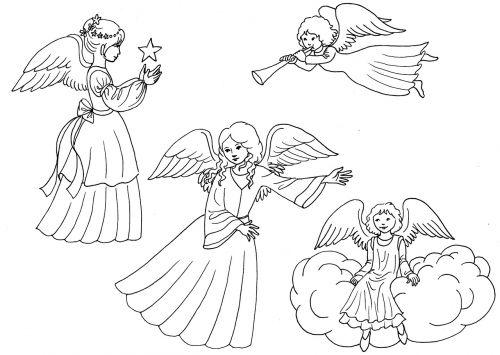 angel little angel wing