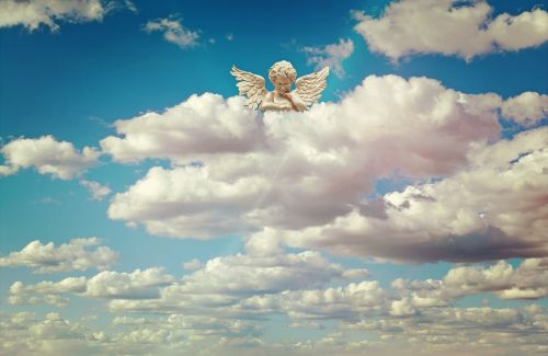 angel angel figure guardian angel